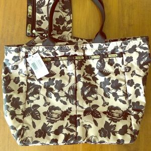 LeSportsac Floral Tote NWT